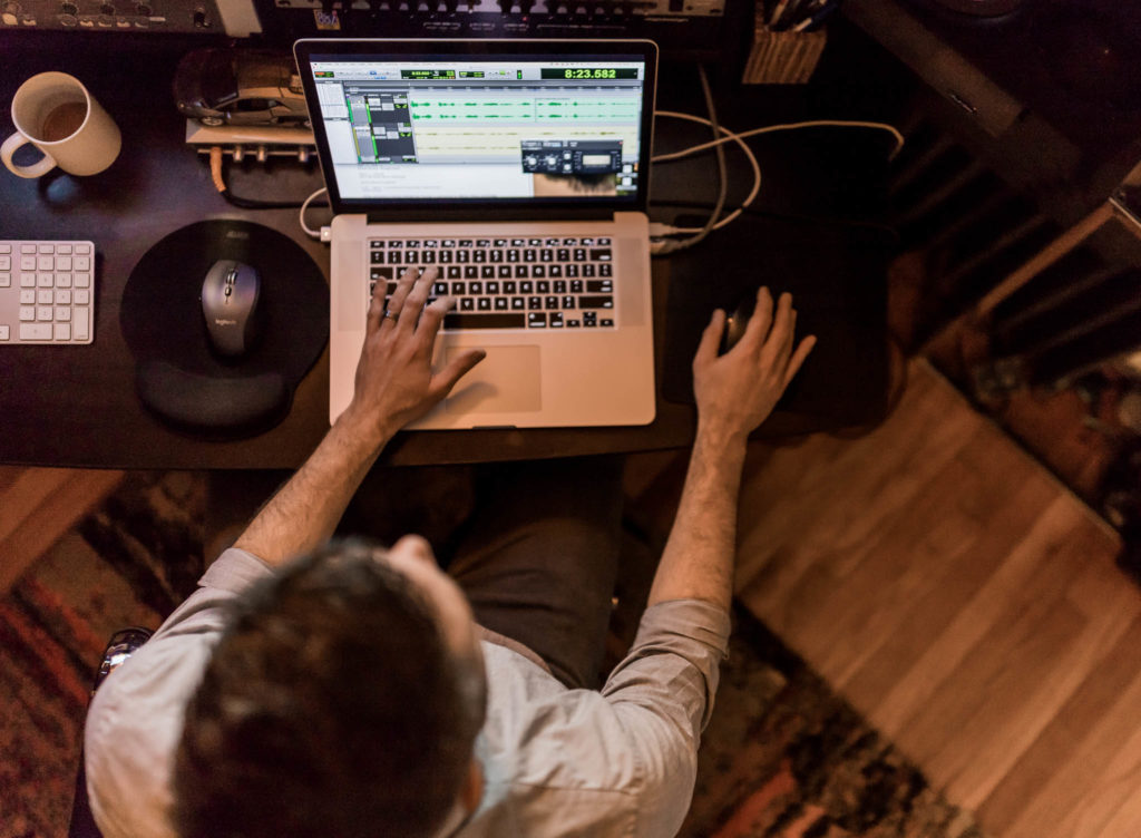 mastering and editing podcasts